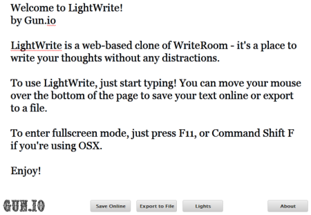 online tools for distraction writing technical  lightwrite