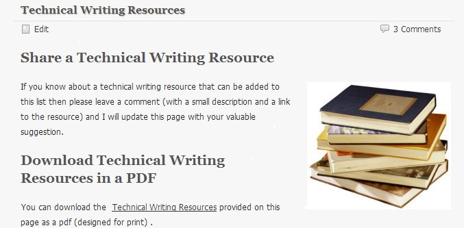 freelance technical writing